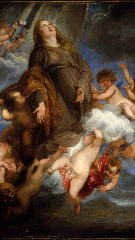 Η Αγία Ροζαλία του Φαν Ντάικ. Σε καραντίνα.